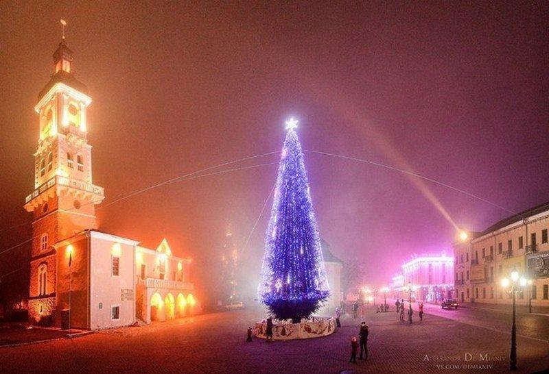 Новорічна ялинка в Кам'янці-Подільському