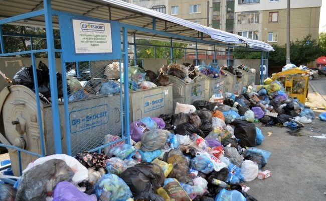 Lviv is having problems with disposition of garbage