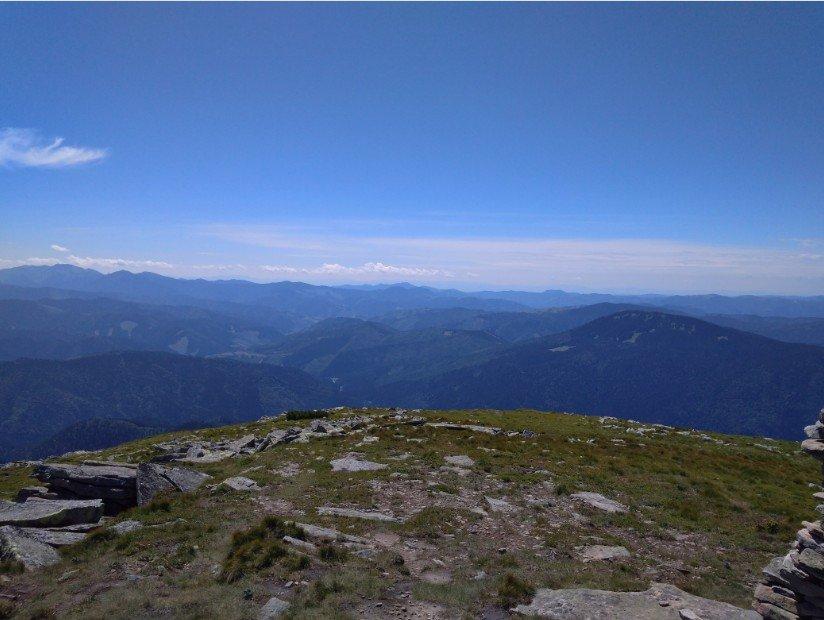Вид з гори Туркул