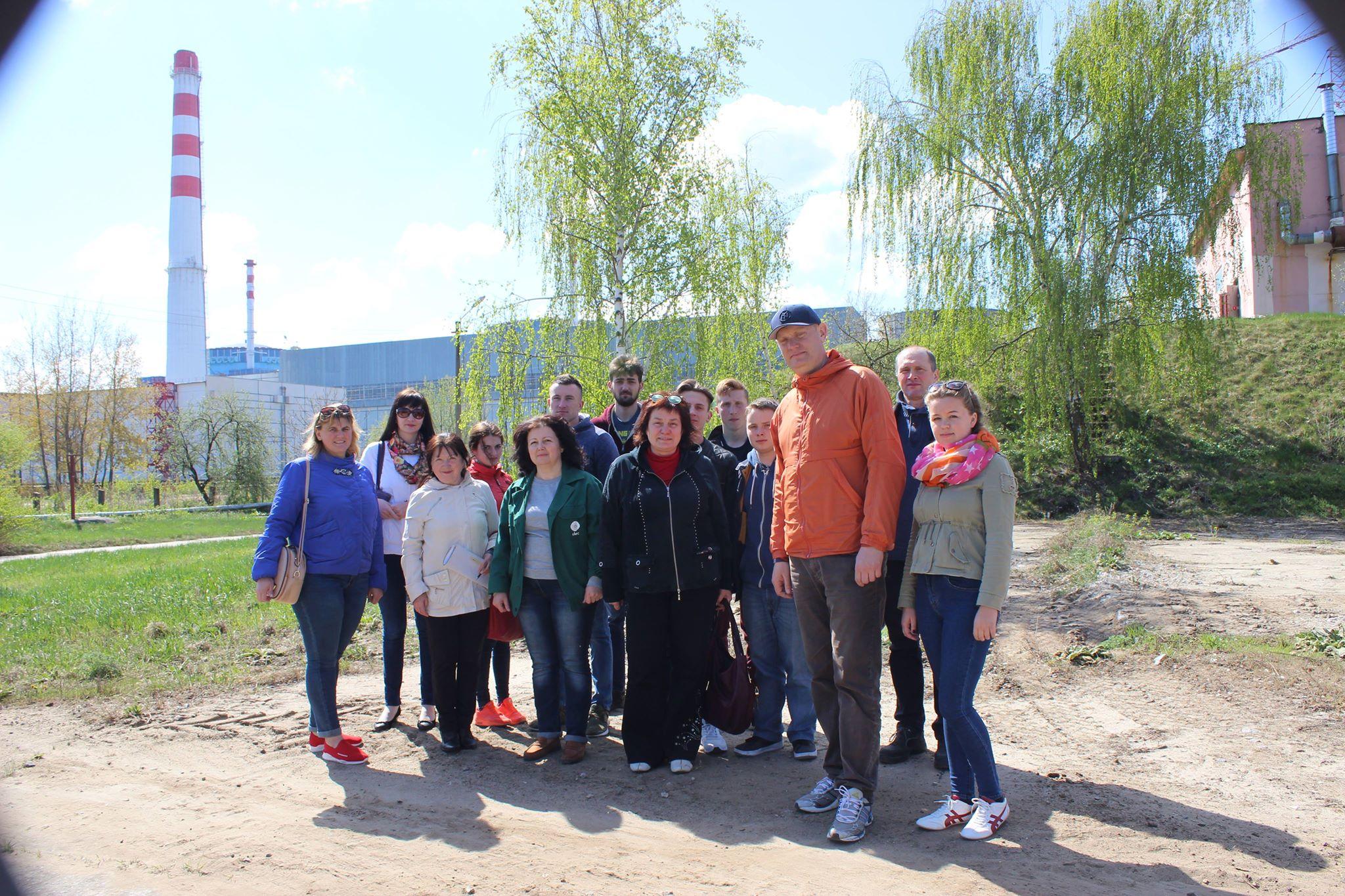 Екскурсанти відвідали очисні споруди міста Нетішин