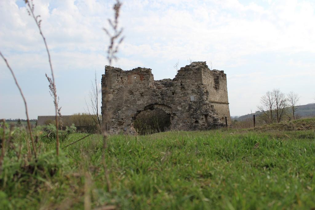 Руїни замку у селі Сутківці